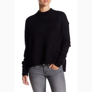 melrose & market cherish mock neck sweater